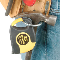 SnapGate Tape Measure on Tool Belt